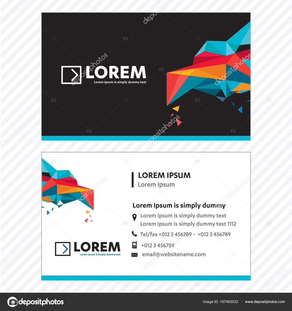 Business card vector template tech logo link network visiting card business card vector template tech logo link network visiting card corporate identity stock colourmoves
