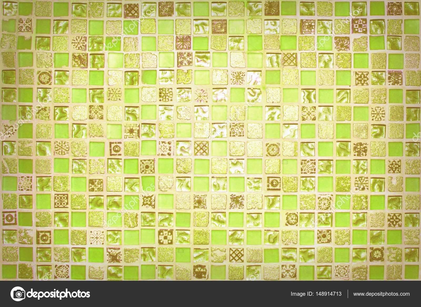 Kleine mosaikfliesen - Grune mosaikfliesen ...