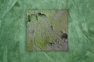 Aged green rust texture
