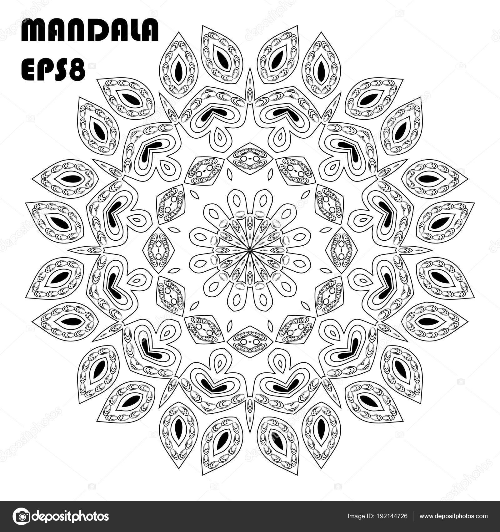 çiçek Mandala Vintage Dekoratif öğeler Oryantal Model Islam