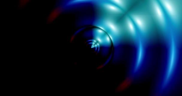 elvont sima hullámvonalak háttér vektor illusztráció