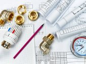 Mérnöki fűtés. Fűtési koncepció. A ház fűtés projekt.