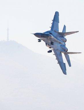 Fast Fighter Jet Flight