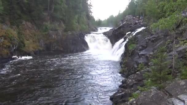 Vodopád v Severní forest park