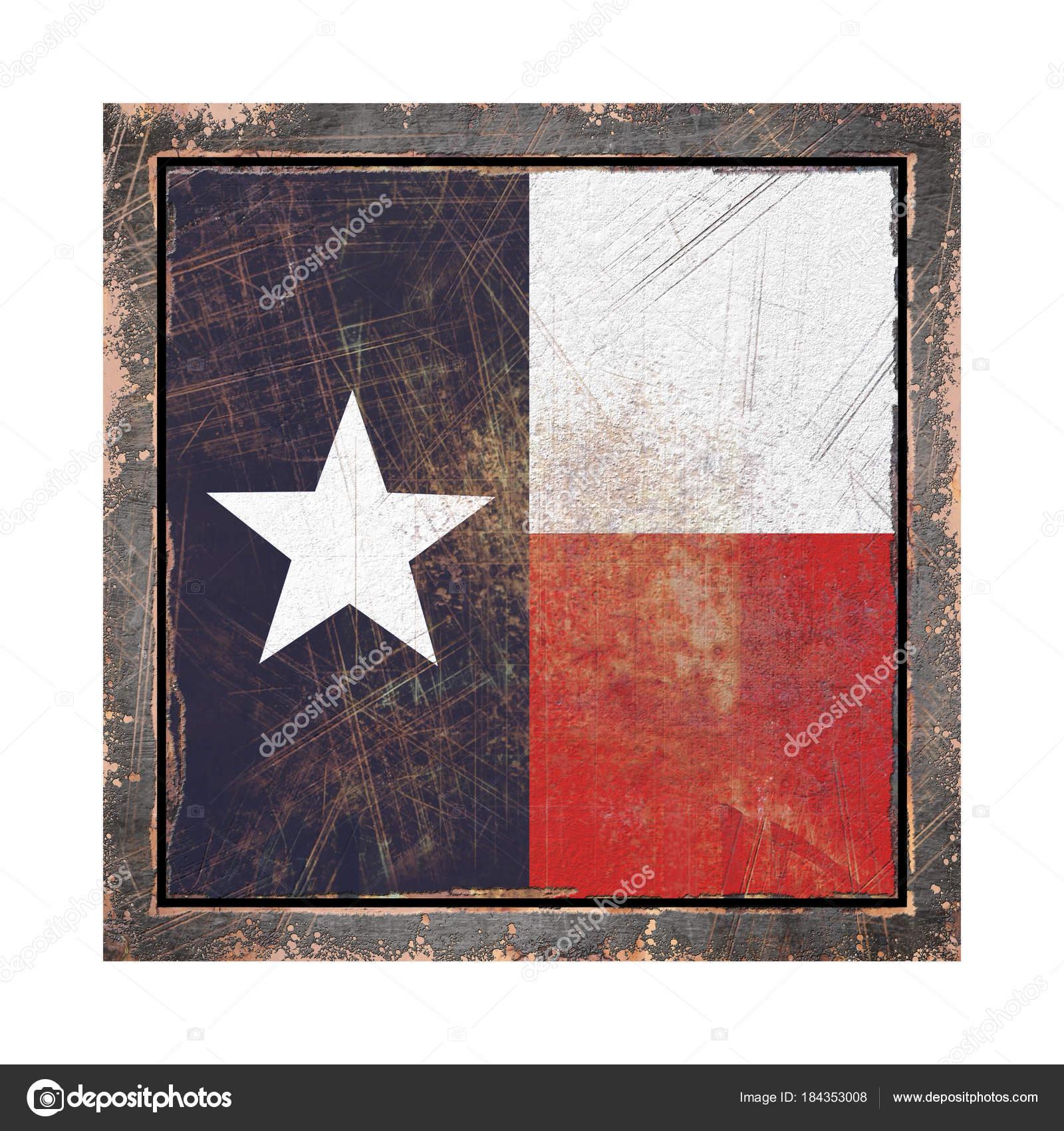 Alte Flagge von Texas — Stockfoto © erllre #184353008