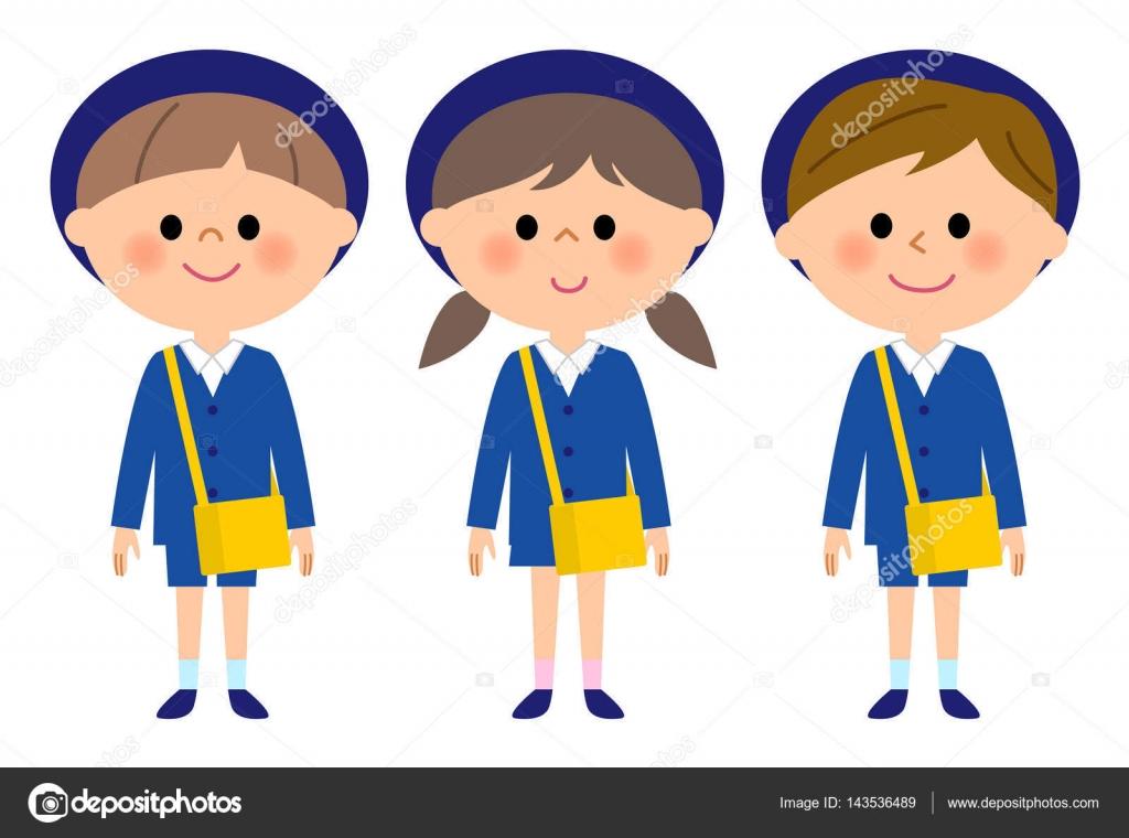 幼稚園保育園の子 ストックベクター Studiolaut 143536489