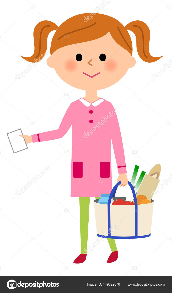 423318564 Girls go shopping — Stock Vector © studiolaut #149622878