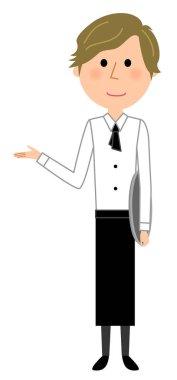 Cafe clerk, Waiter,Induction/