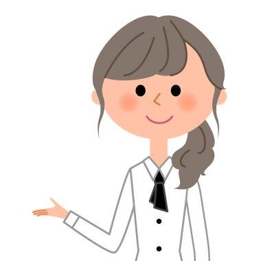 Cafe clerk, Waitress,Induction/