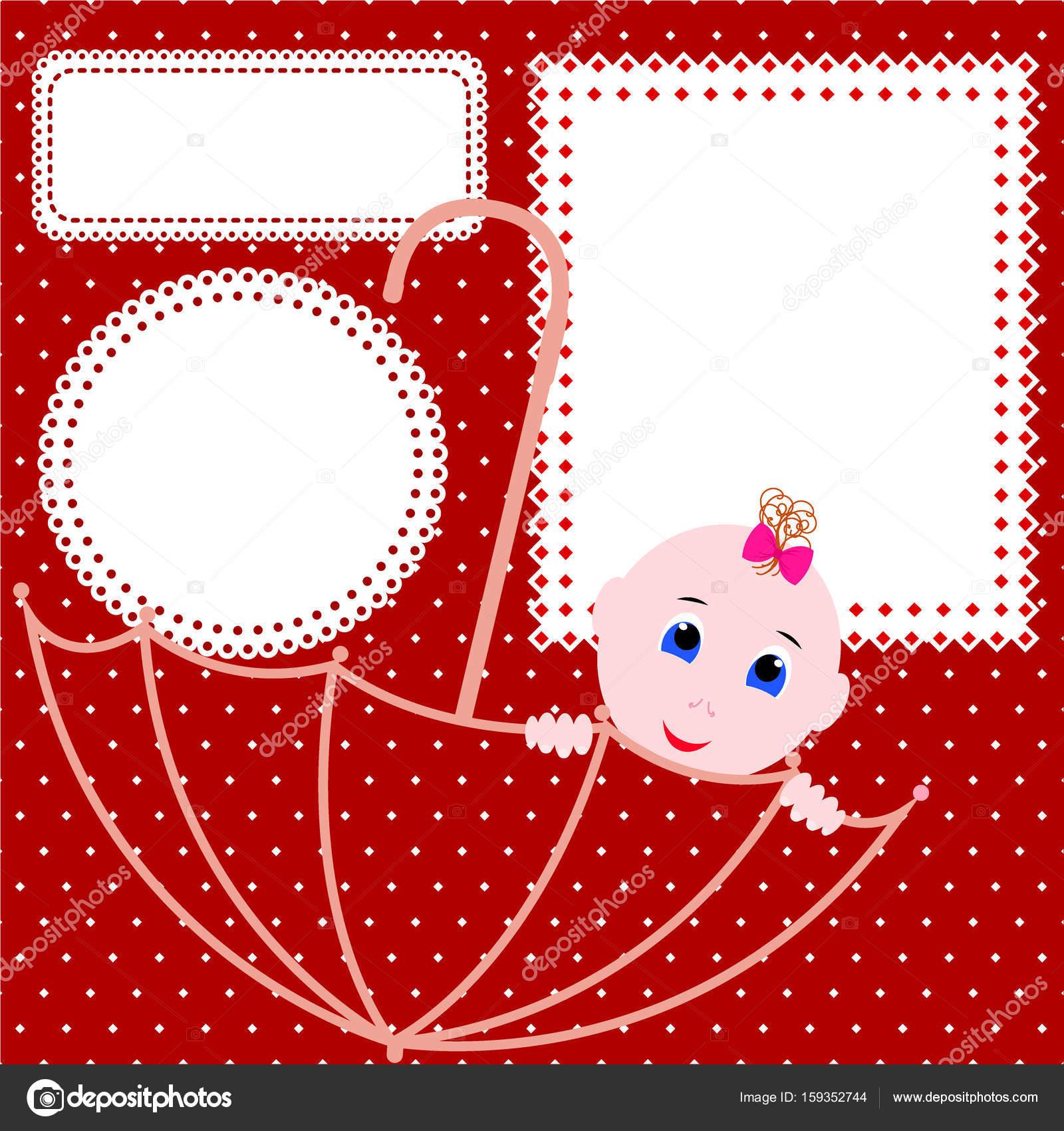 b36efb6d0c9d3 Bebé ducha tarjeta de felicitación