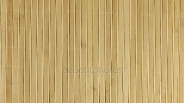 Zoom bambusové rohože, texturu pozadí pro návrh.