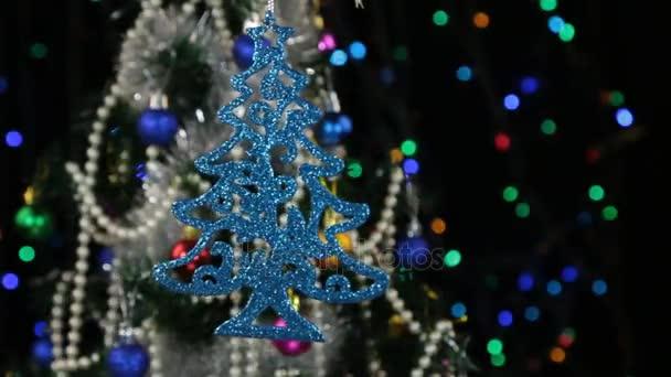 Decorazioni Albero Di Natale Blu : Bellissime decorazioni capodanno e natale blu a forma di un albero