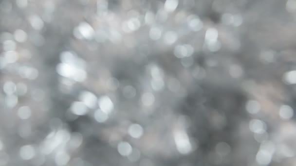 Rozmazané, rotace stříbrné pozlátko
