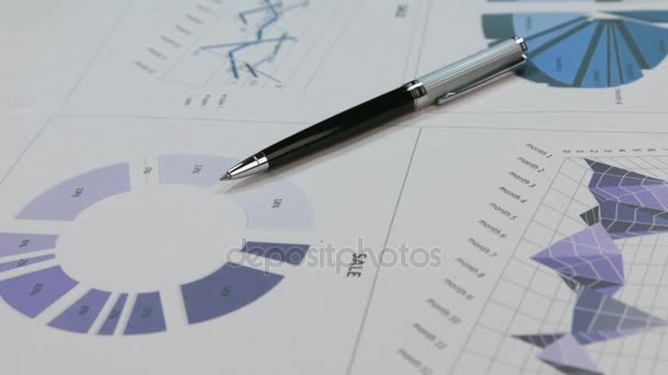 Fine Rotating Of A Ballpoint Pen Lying On The Diagrams Stock Video Wiring Digital Resources Minagakbiperorg
