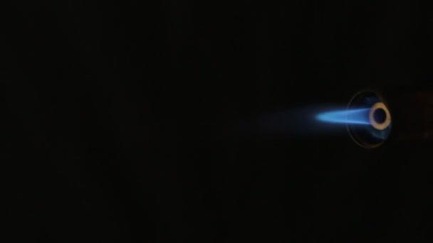 Piezo Zapalovani Plynoveho Horaku Proud Modry Oranzovy Plamen