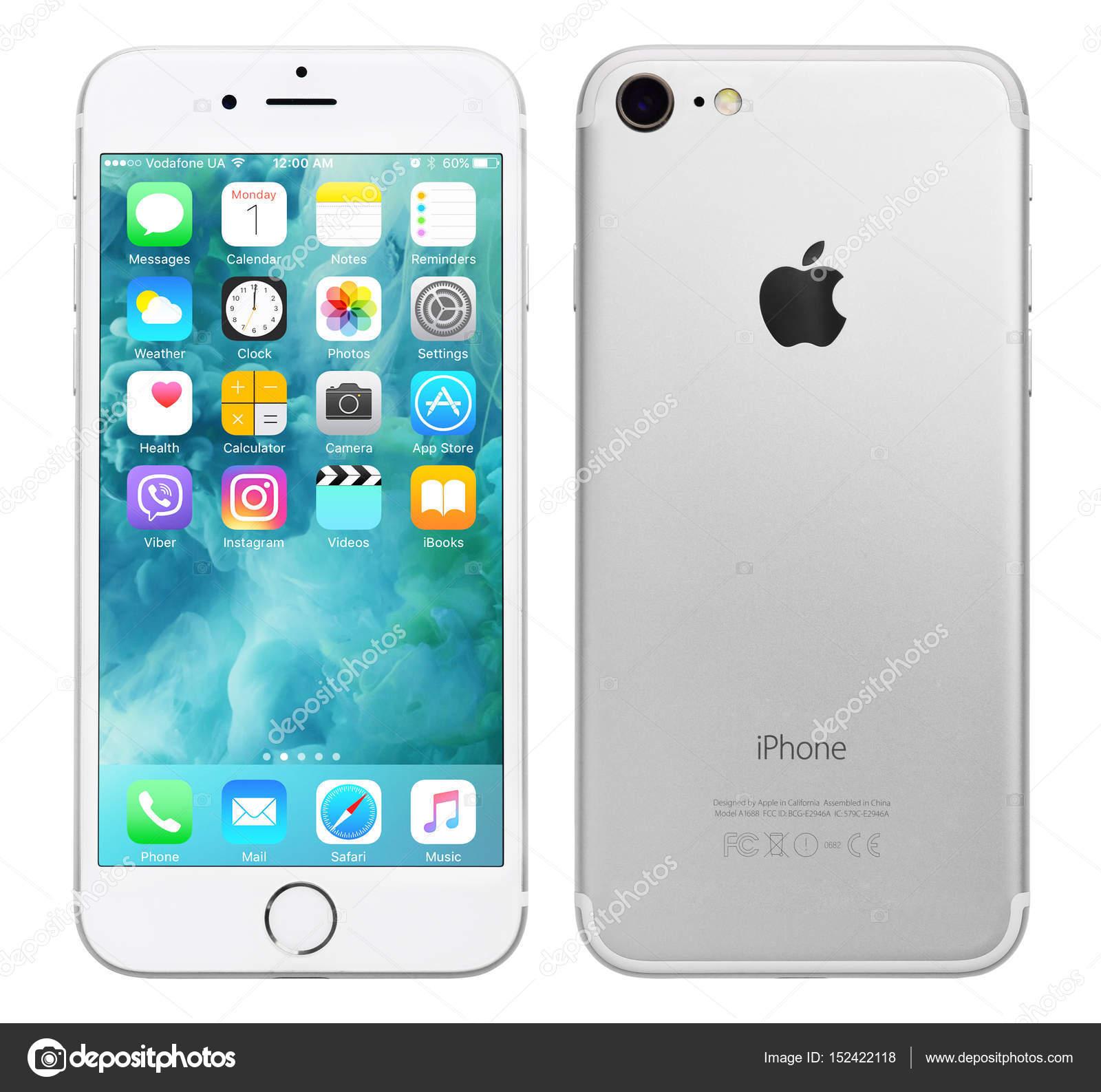 Silver Apple Iphone 7 Stock Editorial Photo C Tashka2000 152422118