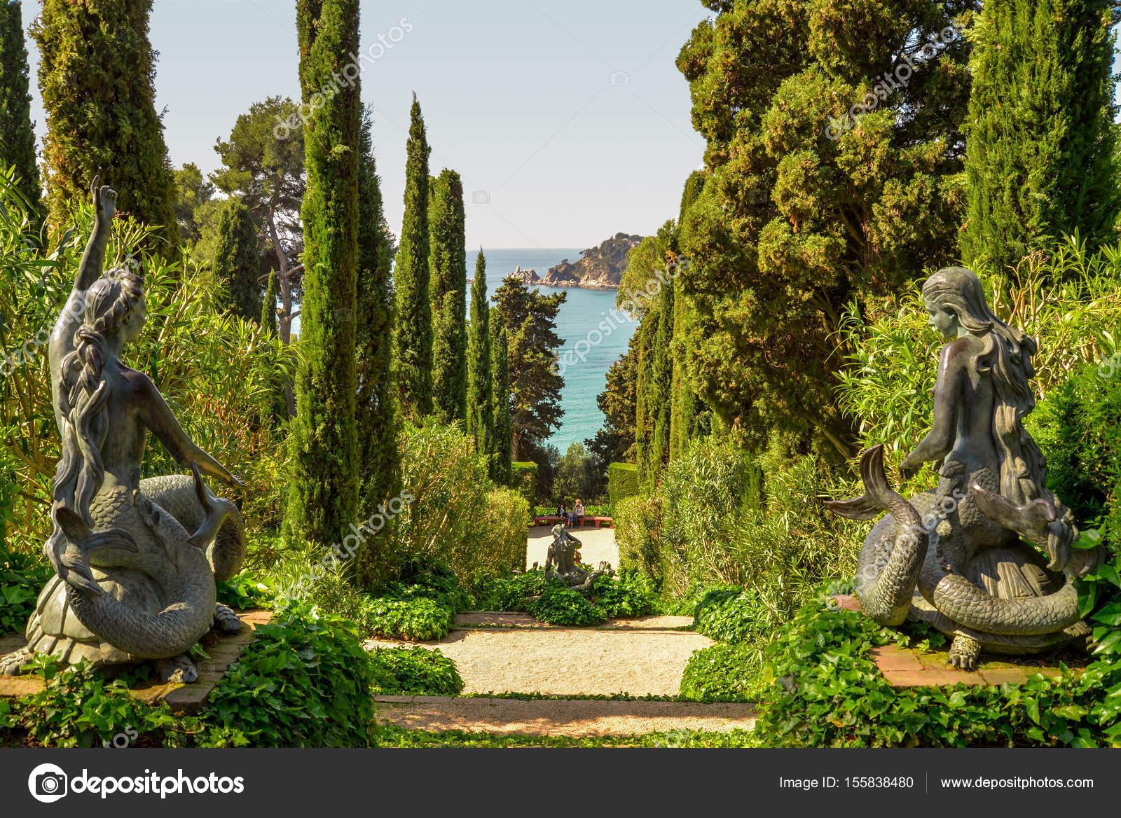 Jardines de Santa Clotilde — Foto de Stock