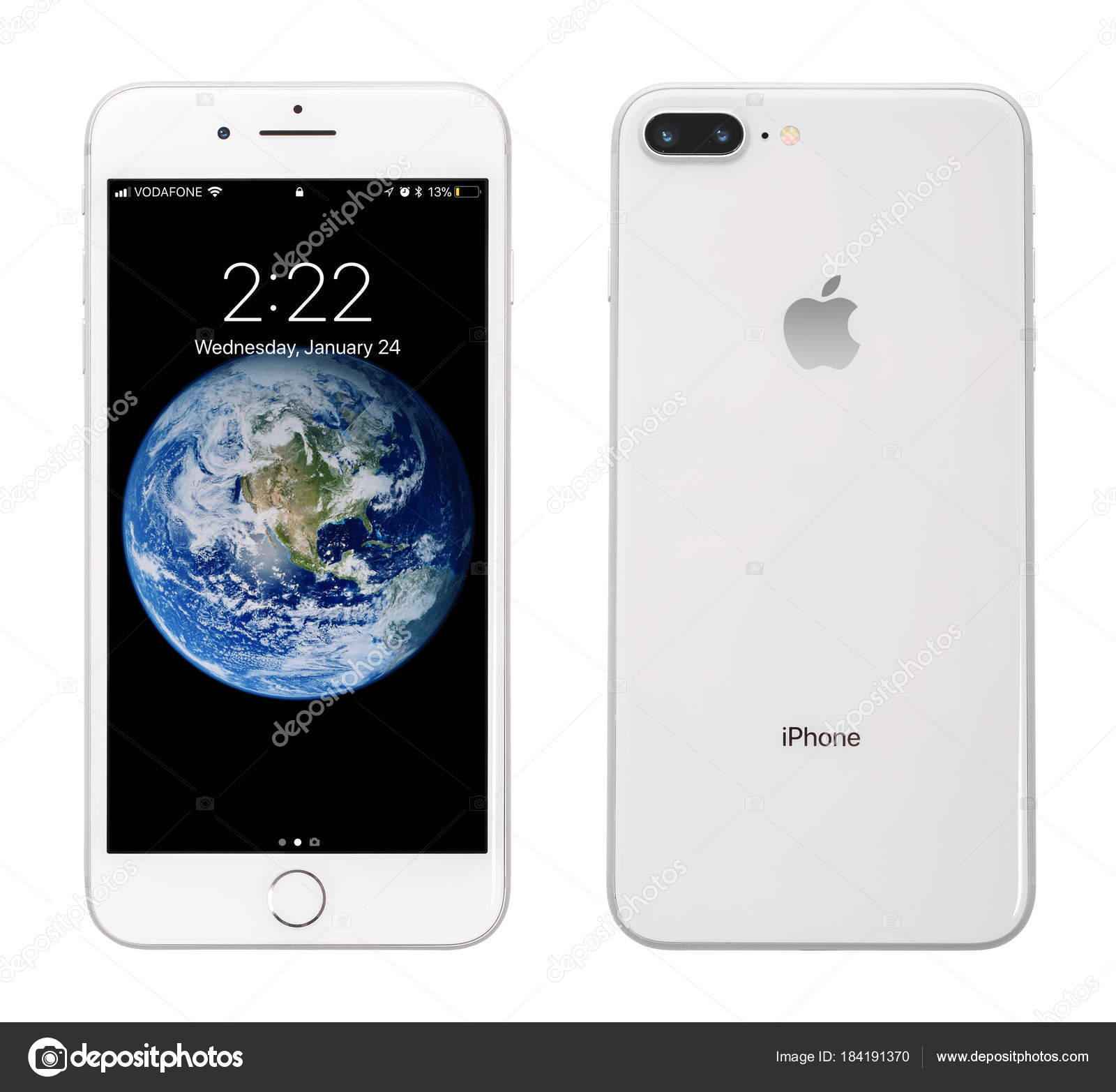 Wallpapers Iphone 8 Hd Apple Iphone 8 Plus Silver Stock