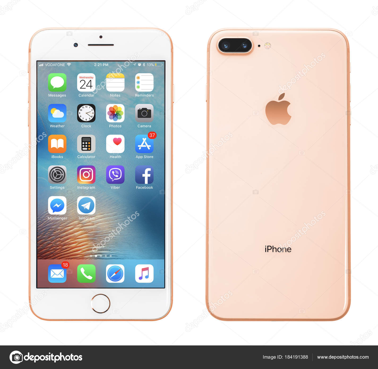 Picture: iphone 8 plus gold | Apple iPhone 8 Plus Silver