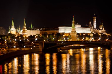 Kremlin in the night