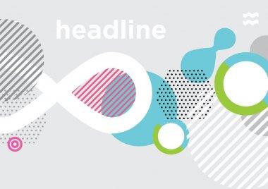 Background template design, vector clip art vector