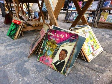 second hand book market in Havana
