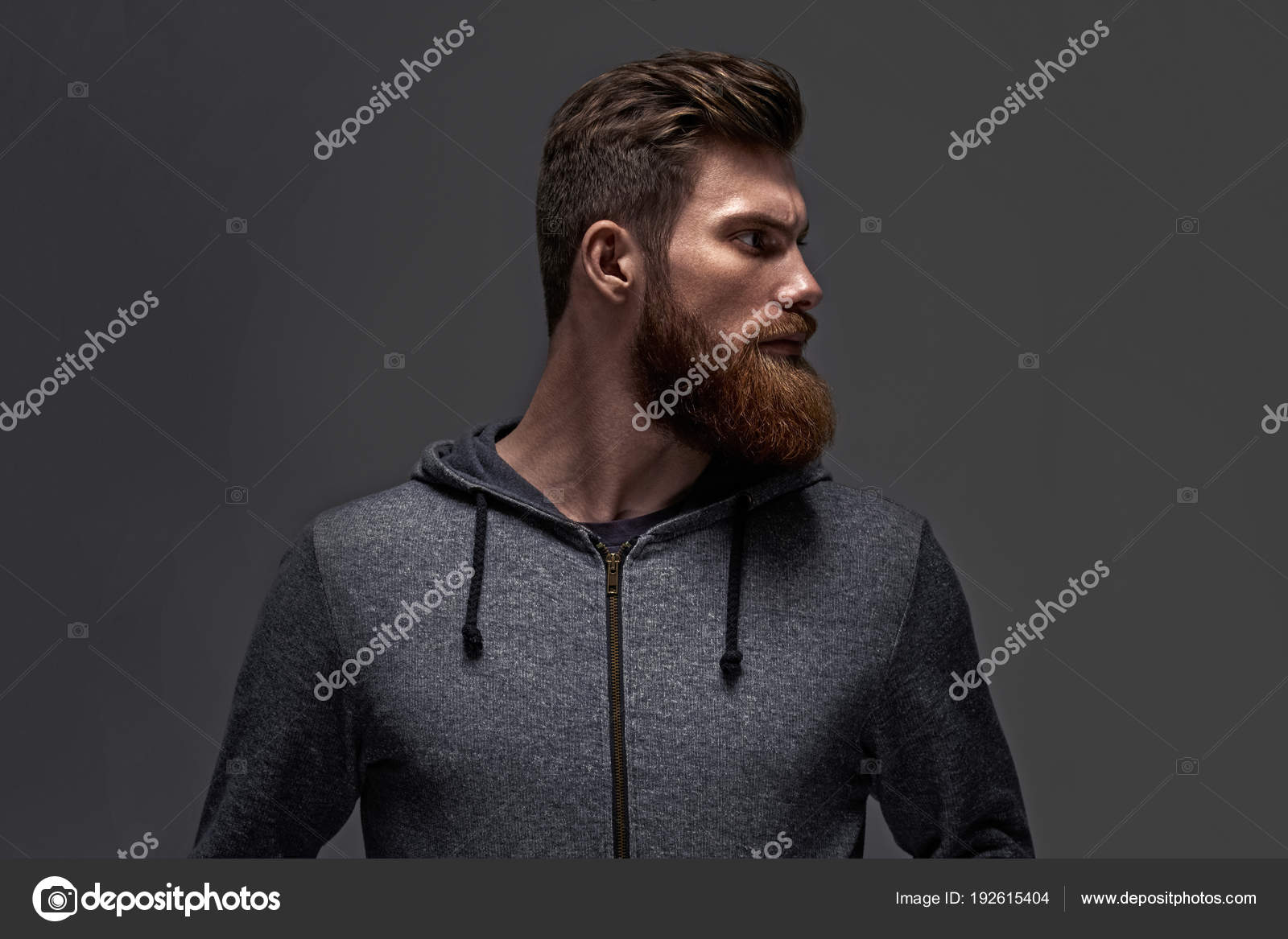 Moderne frisuren manner mit bart