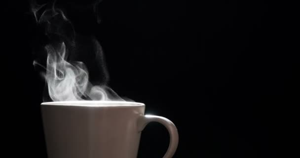 Steam Rises from a Mug of Coffee