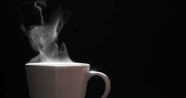 Steam from a Cup with Boiling Water