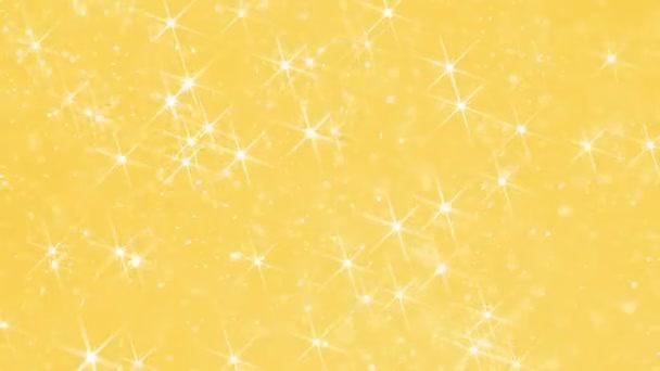 Ragyogó por a napfényben. Lebegő pezsgő részecskék hasonló fagy véletlenszerűen mozog-ra egy színes, romantikus háttérben létrehoz egyfajta ünneplés