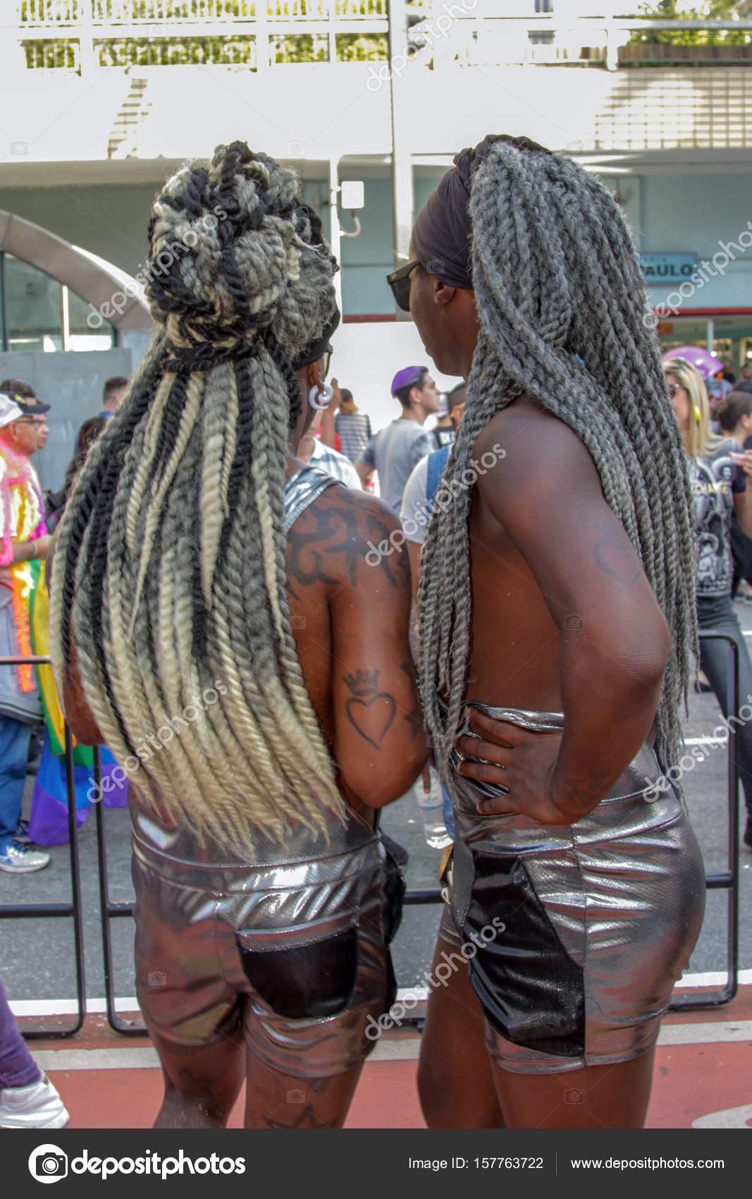 Czarny brazylijski seks gejowski