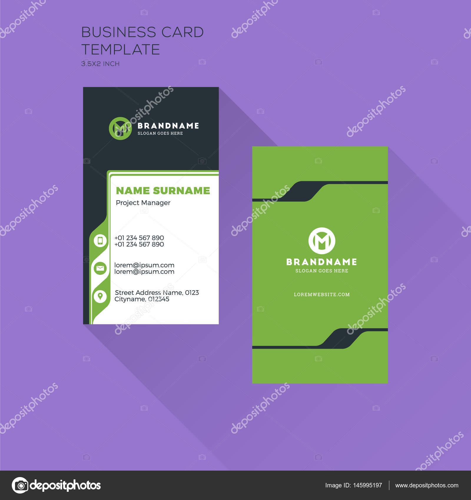 Plantilla imprimir tarjeta de visita vertical. Tarjeta de visita ...
