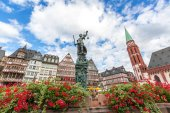 Justitia szobor Frankfurt