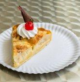 Fotografie Obst Torte Torte mit Kirschfrucht und Schokolade