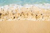 Fényképek Tengeri hullám, a trópusi, fehér homokos strand
