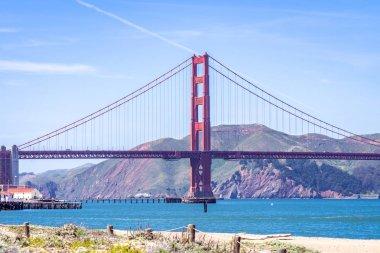 Golden Gate bridge in San Francisco California, USA