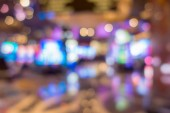 Fotografie Abstraktní pozadí rozmazané Casino
