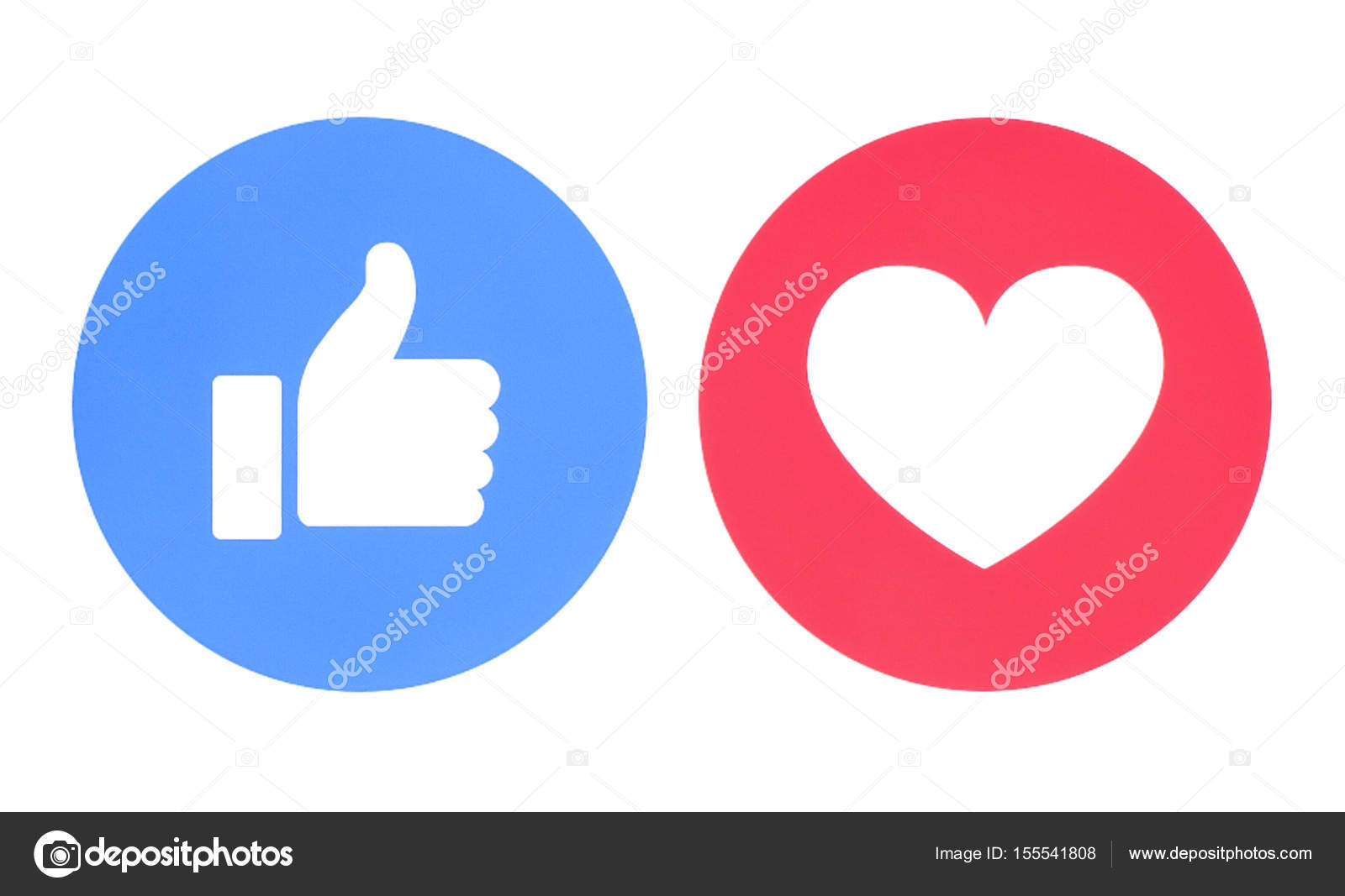 Facebook like and love icons stock editorial photo rozelt facebook like and love icons stock photo biocorpaavc Choice Image