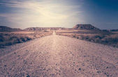 Photo Wild west american road