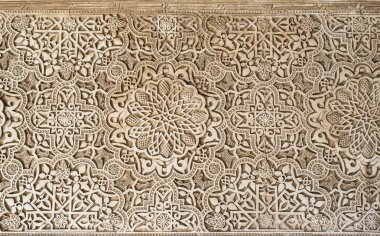 Islamic ornaments on wall