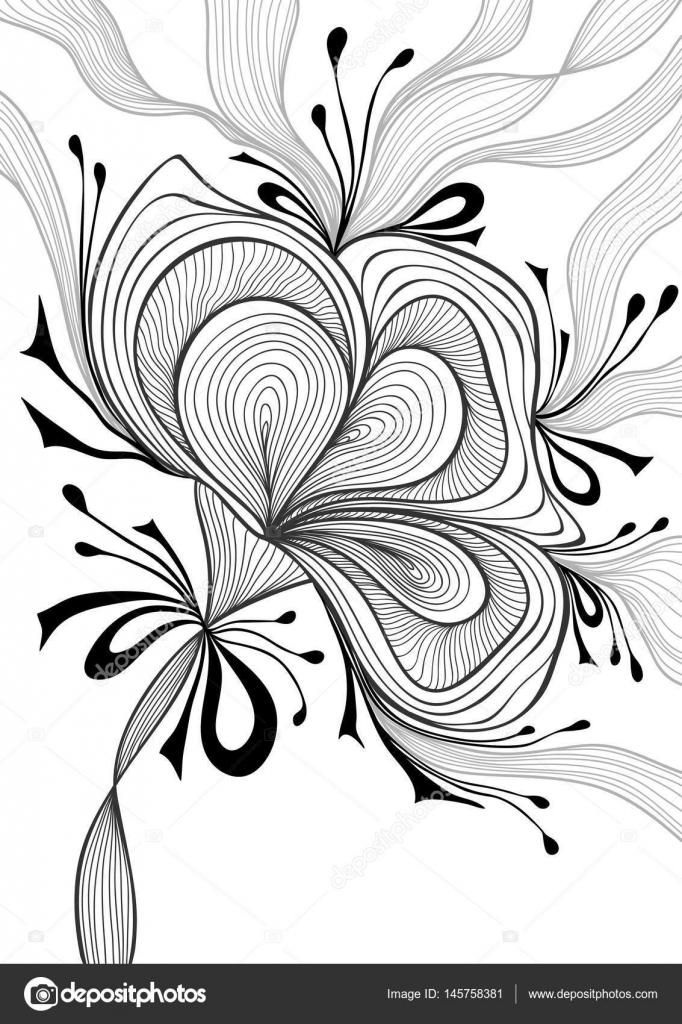 Schöne Zusammenfassung Hintergrund mit Spitze Blume Bogen schwarz ...