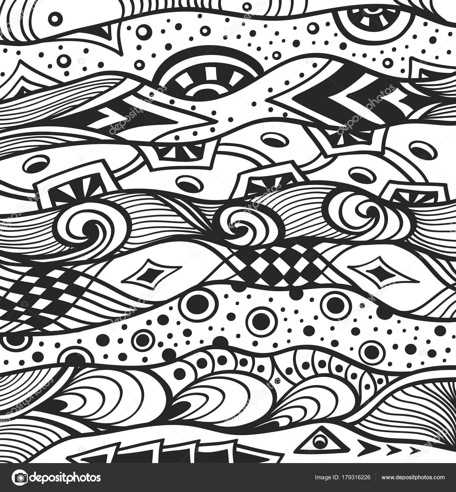 Paisley coloriage 57 Abstract Doodle Zentangle Coloring pages ... | 1700x1577