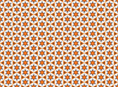 Modern geometric seamless pattern.
