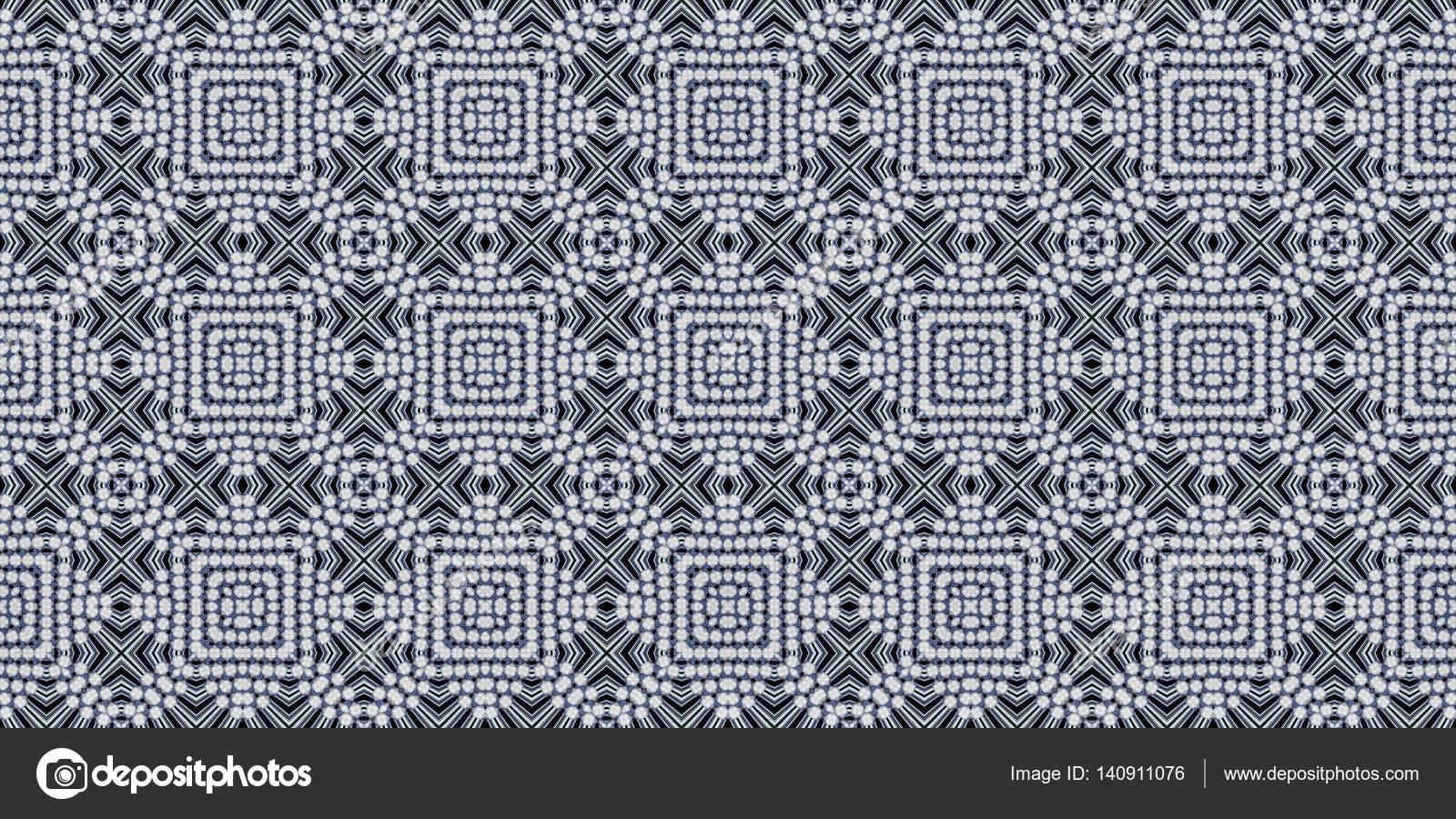 Modello senza cuciture monohrome texture di patchwork mosaico
