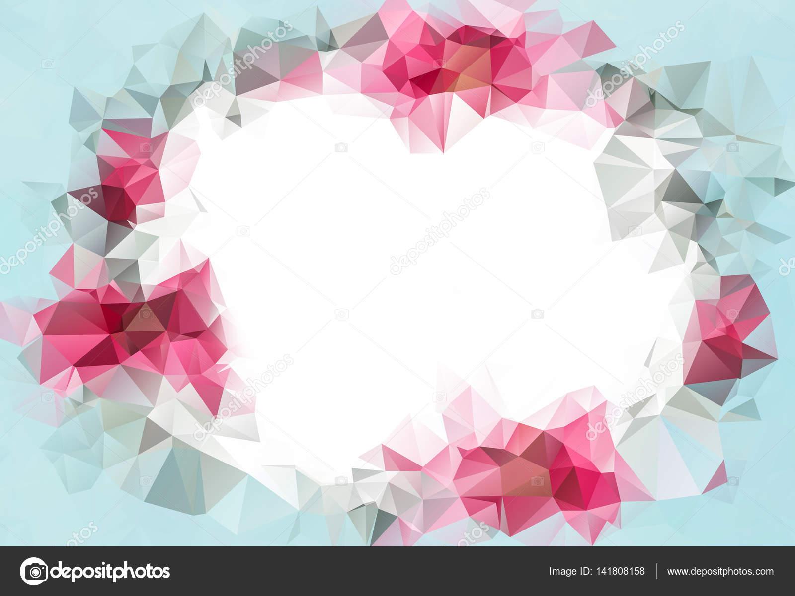 Fondo Geométrico: Fondo Geométrico Abstracto. Diseño Para Presentaciones