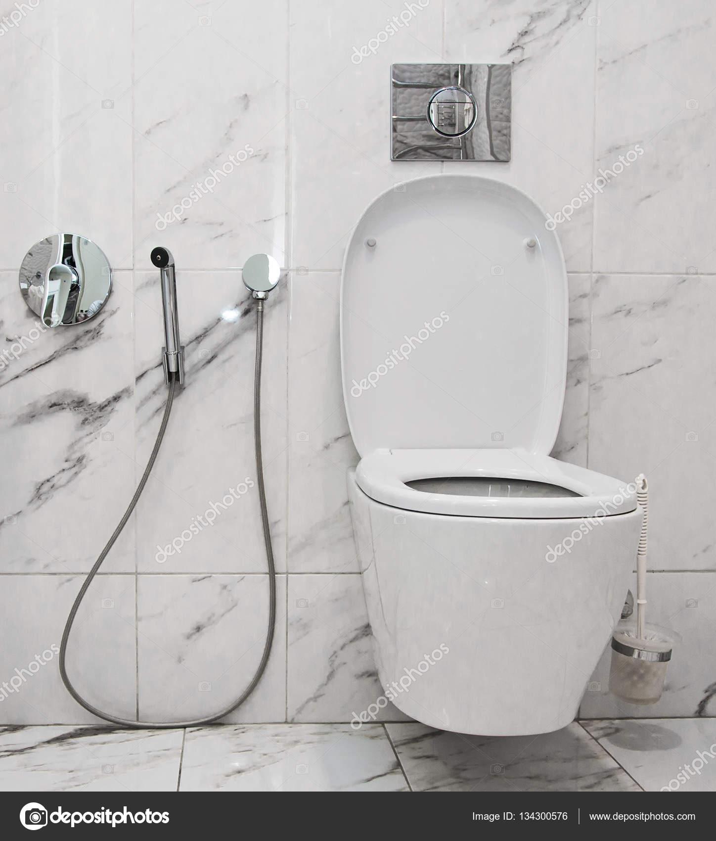 Wnętrze łazienki Toaleta I Bidet Zdjęcie Stockowe