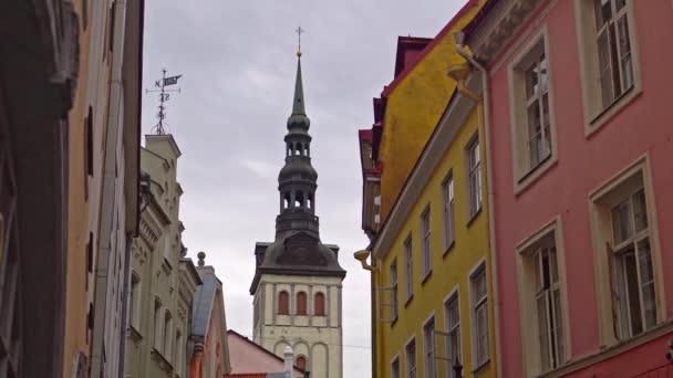 Kostel sv. Mikuláše ve starém Talinu.