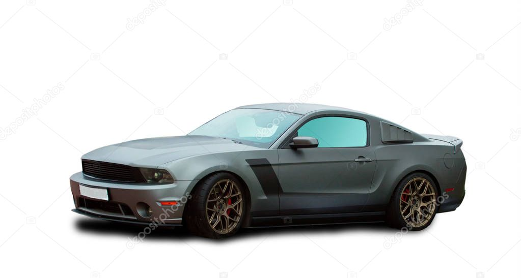 Tuning voiture américaine de Muscle — Photo éditoriale © OlegMirabo #129880412