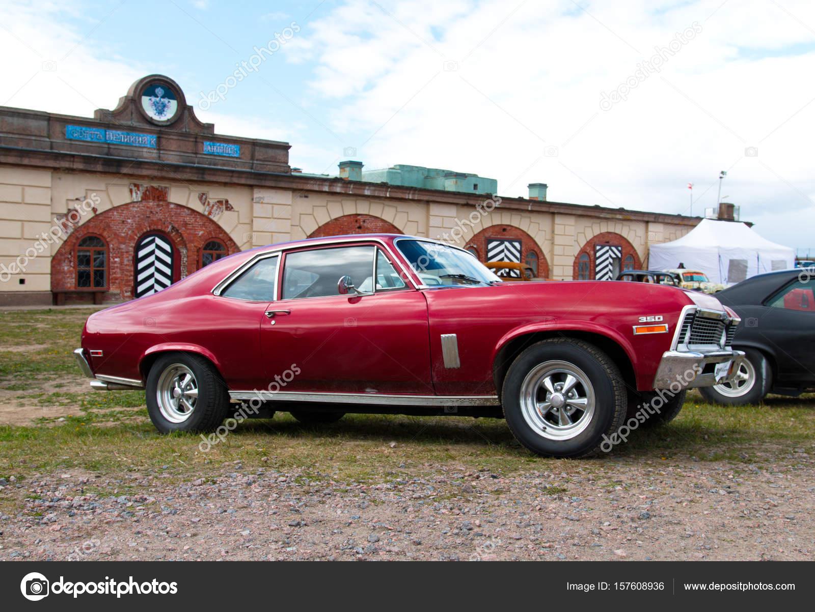 Vintage American Muscle Car Stock Editorial Photo C Olegmirabo