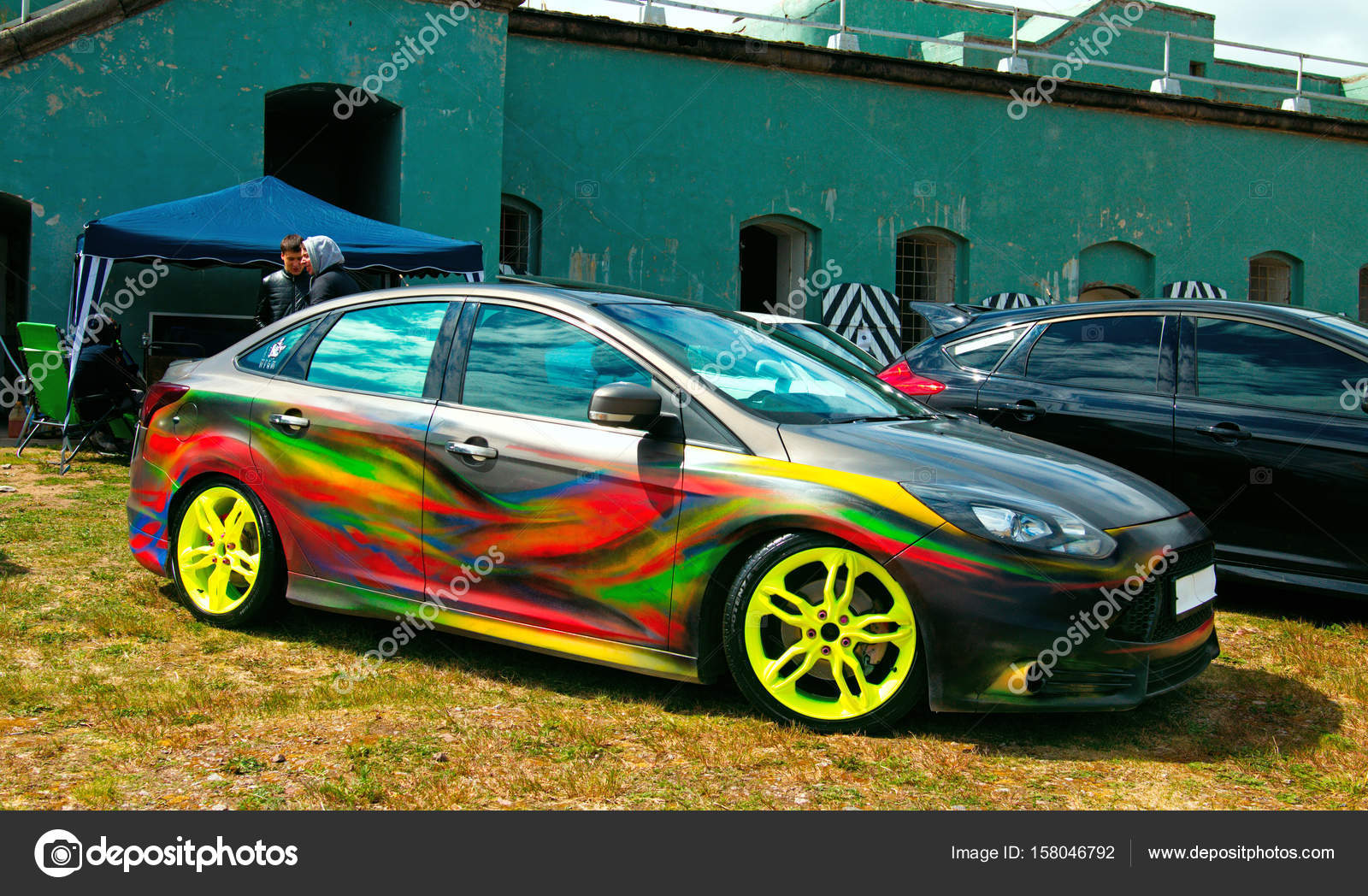 Voiture tuning am ricaine photo ditoriale olegmirabo - Voiture tuning images ...